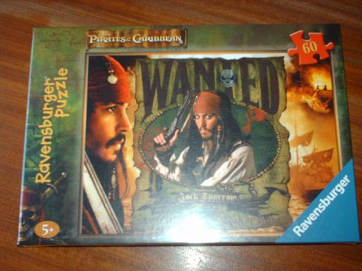 Puzzel Pirates of the Carabean