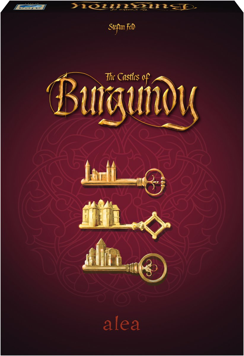 Ravensburger Alea The Castle of Burgundy - Bordspel