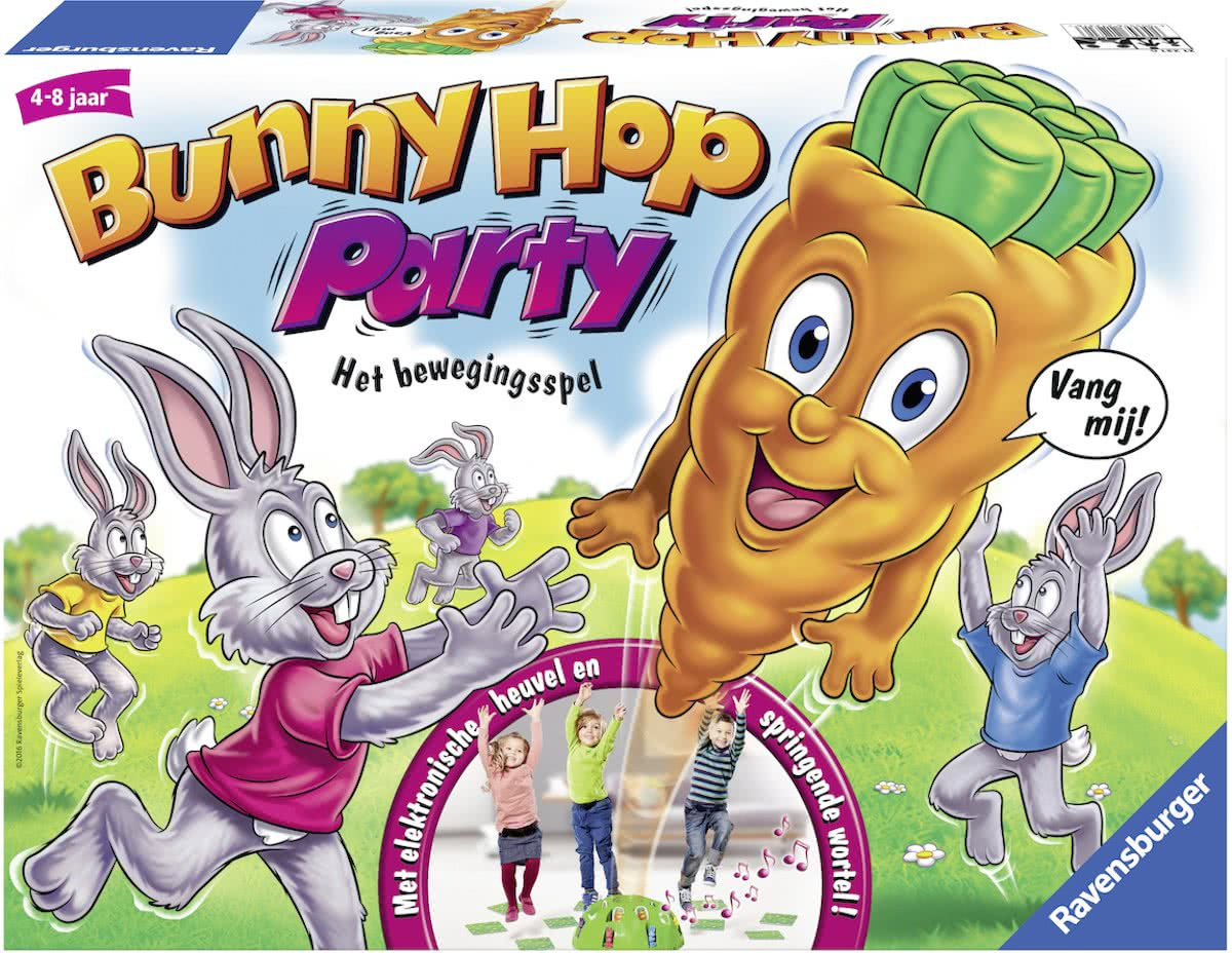 Ravensburger Bunny Hop Party - kinderspel