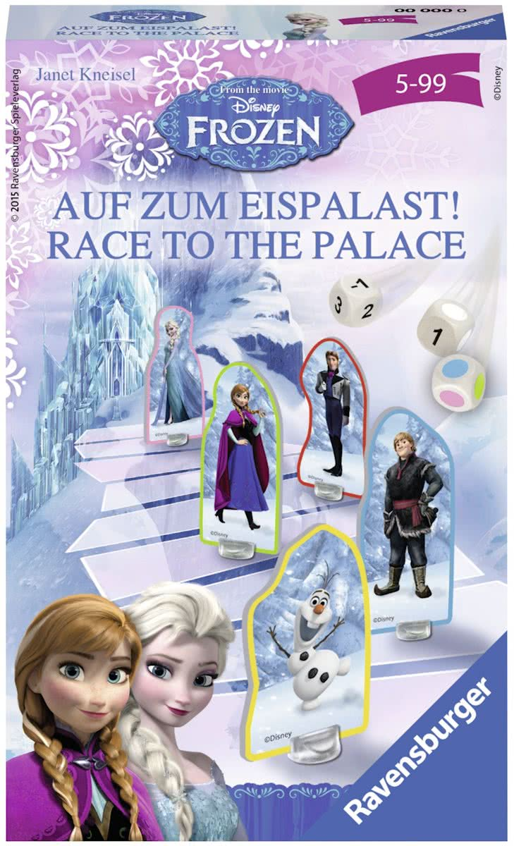 Disney Frozen- Race to the palace - pocketspel