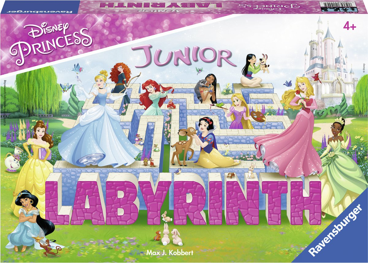 Disney Princess Junior Labyrinth - kinderspel