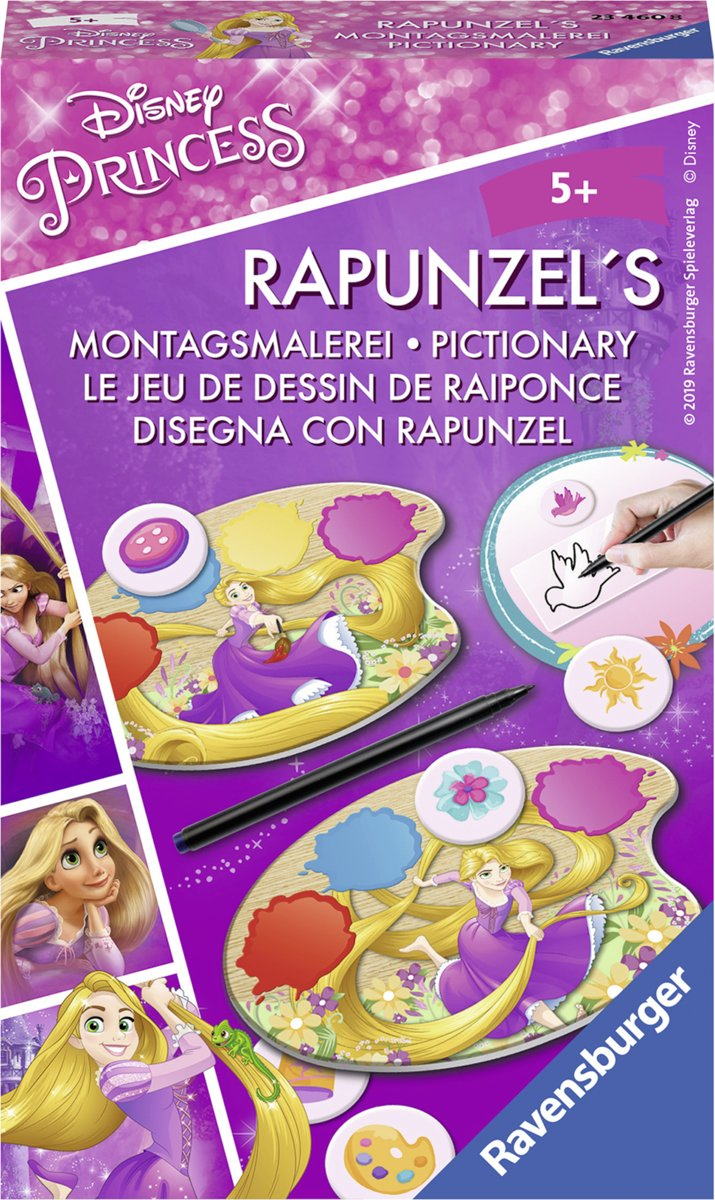 Disney Rapunzel pocketspel