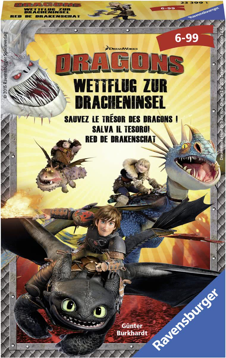 Ravensburger Dragons Red de drakenschat