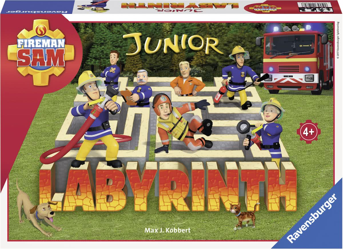 Ravensburger Fireman Sam junior Labyrinth - kinderspel