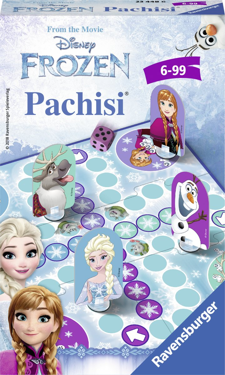 Frozen Pachisi - pocketspel