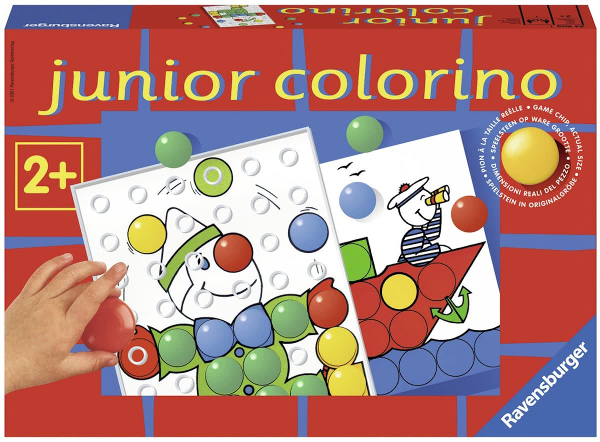 Ravensburger Junior Colorino - leerspel