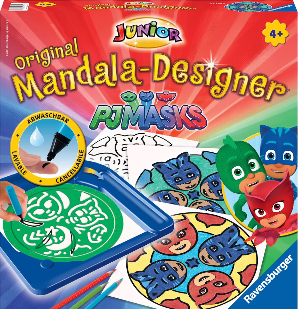 Ravensburger Junior Mandala Designer  PJ Masks