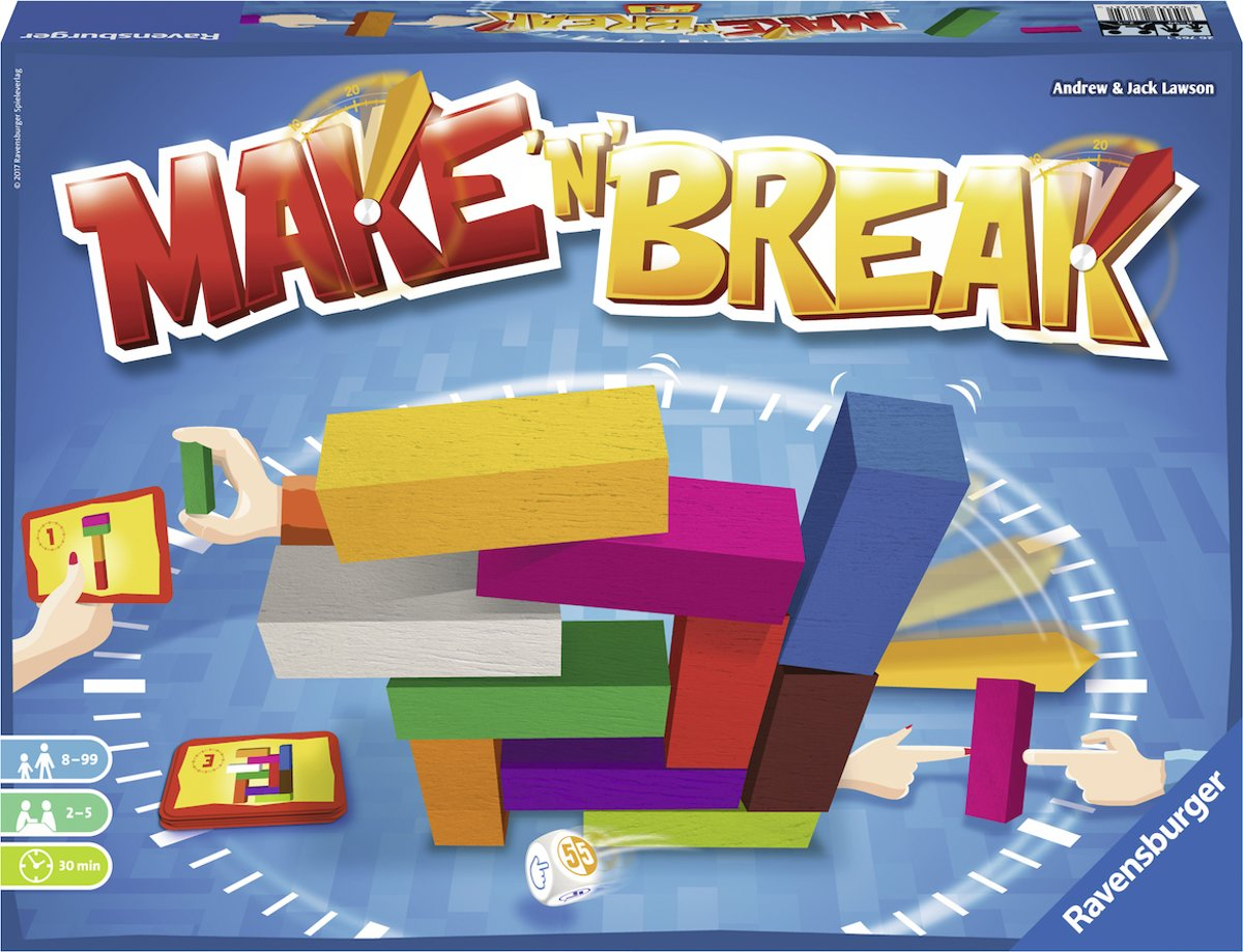Ravensburger Make n Break - Actiespel