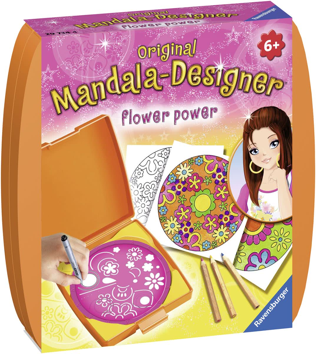 Ravensburger Mini Mandala Designer® Flower power
