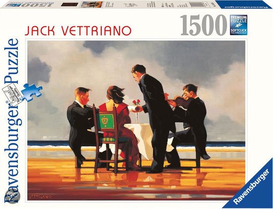 Ravensburger Puzzel - Jack Vettriano: Elegy for a Dead Admiral