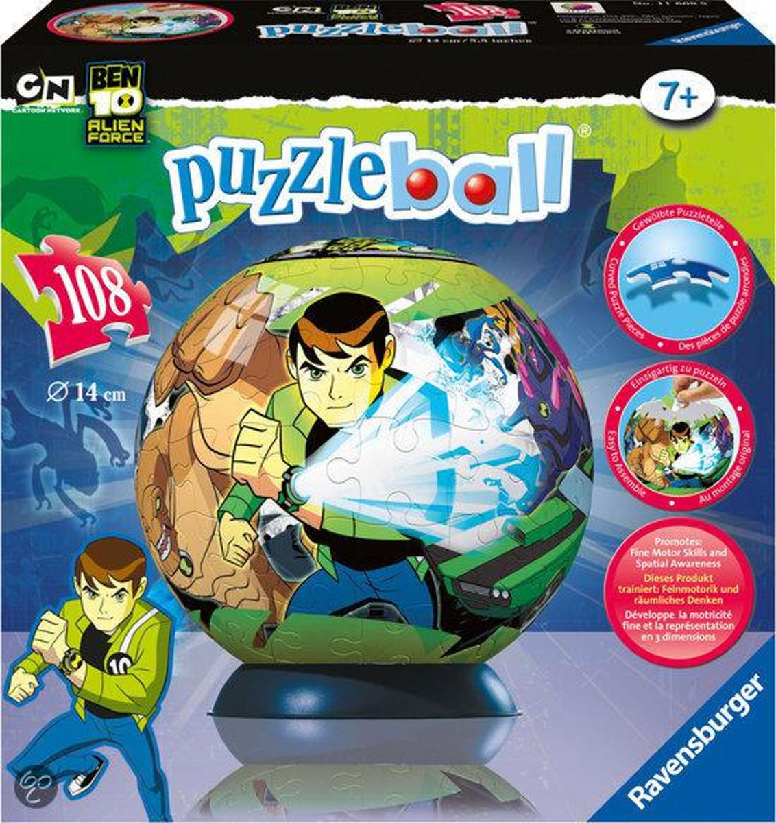Ravensburger Puzzleball - Ben 10 Alien Force