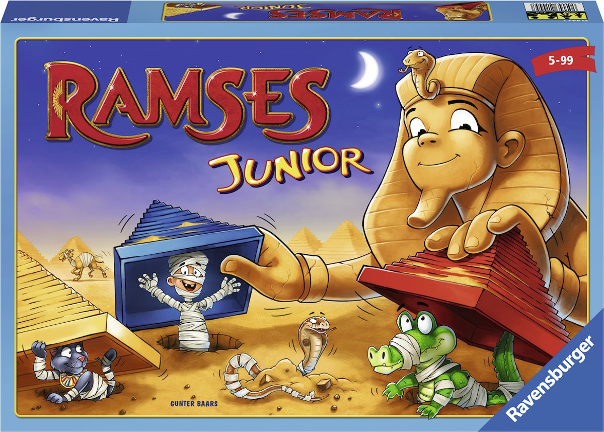Ravensburger Ramses Junior - kinderspel