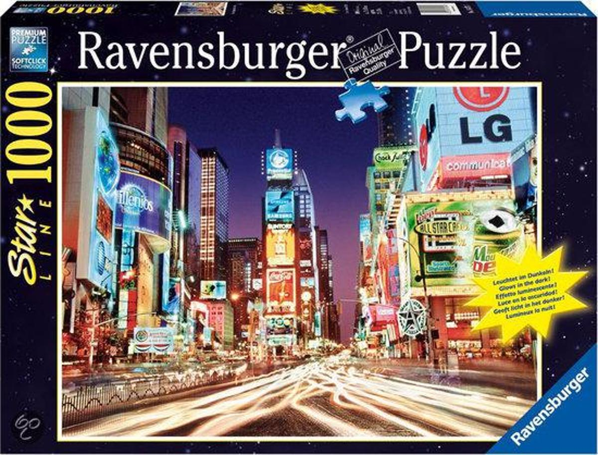 Ravensburger Starline Puzzel - Times Square, New York