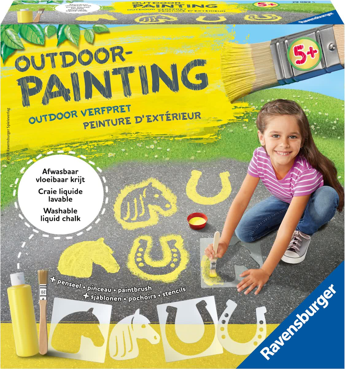 Ravensburger outdoor painting Horses