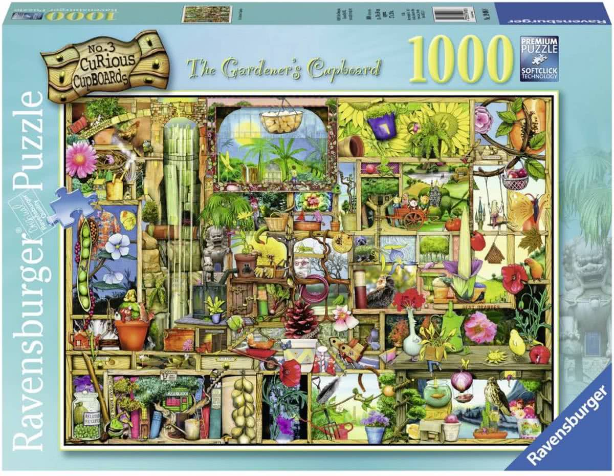 puzzel Colin Thompson The Gardeners Cupboard - Legpuzzel - 1000 stukjes