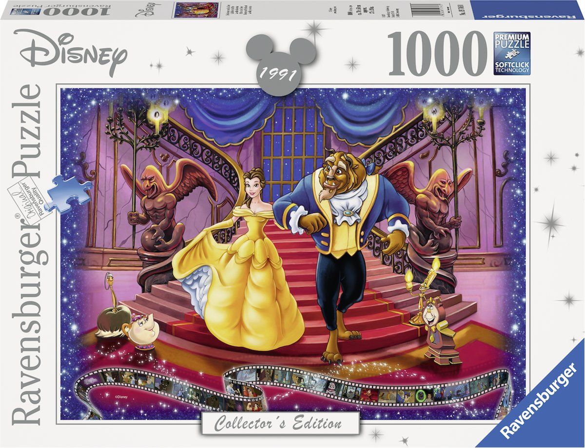 puzzel Disney The Beauty and the Beast - Legpuzzel - 1000 stukjes