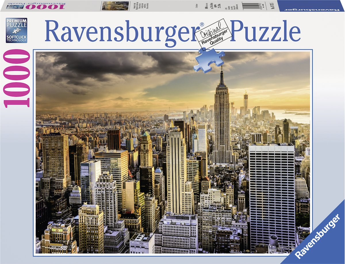 Ravensburger puzzel Grand New York - Legpuzzel - 1000 stukjes