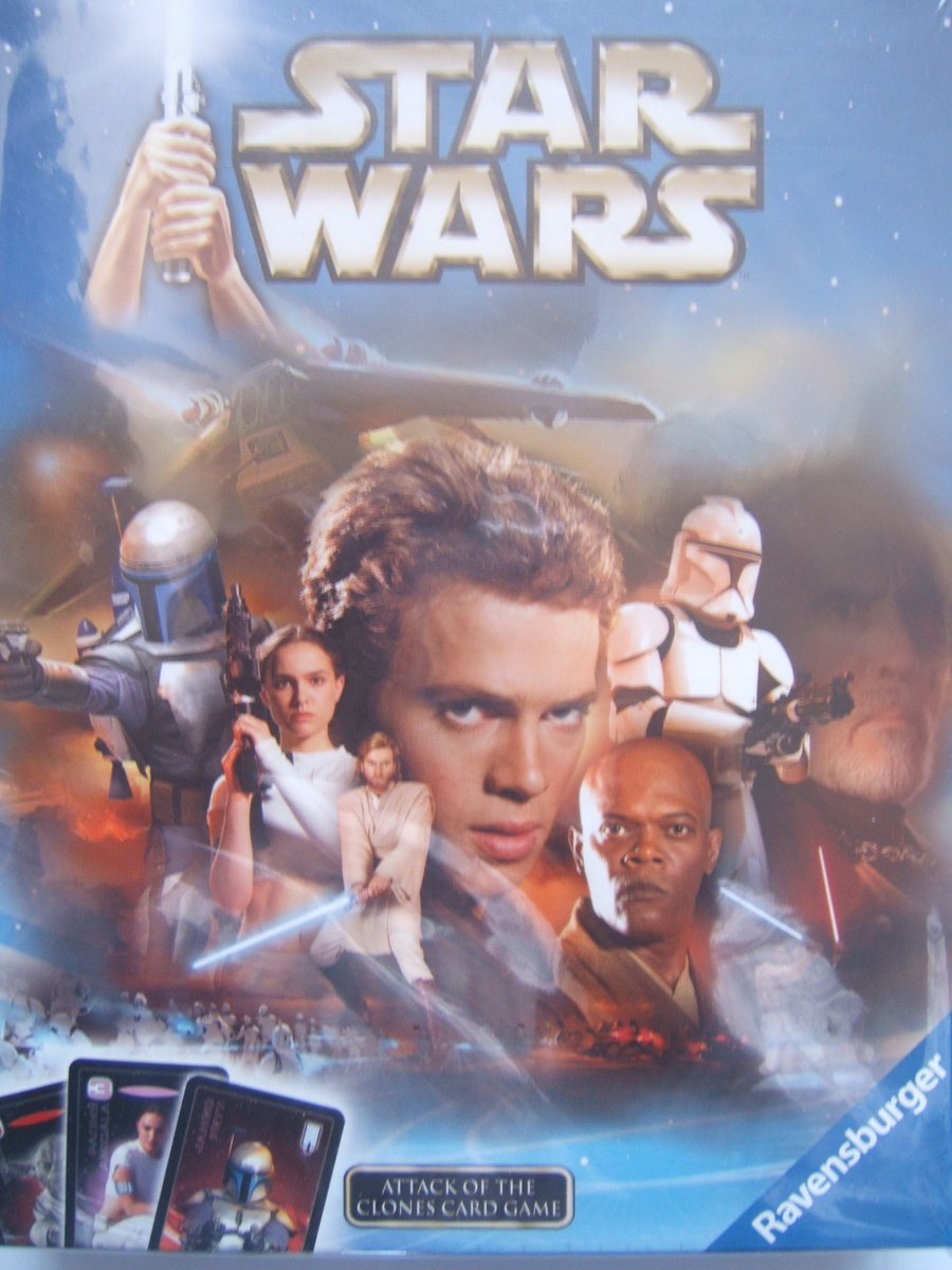 Star Wars Attack of the Clones Card Game