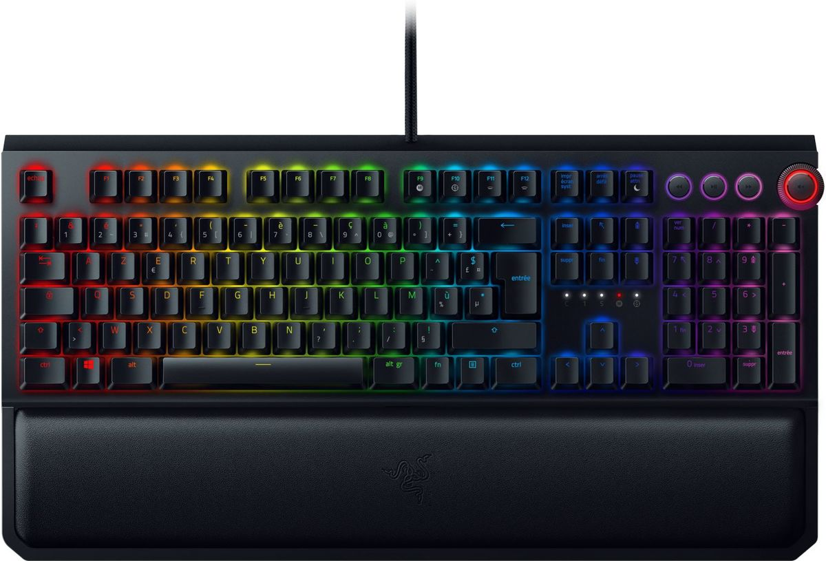 Razer BlackWidow Elite - FR Azerty - Green Switch - Mechanisch Gaming Toetsenbord