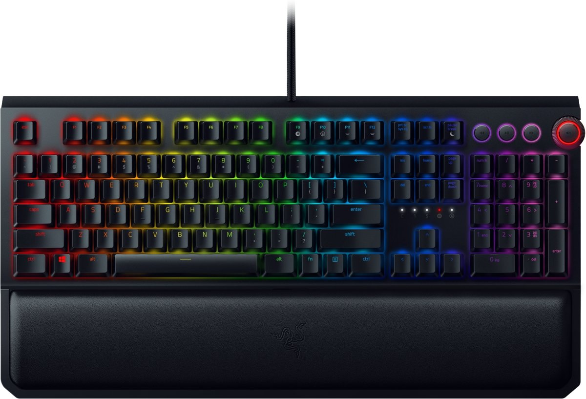 Razer BlackWidow Elite - Qwerty - Yellow Switch - Mechanisch Gaming Toetsenbord