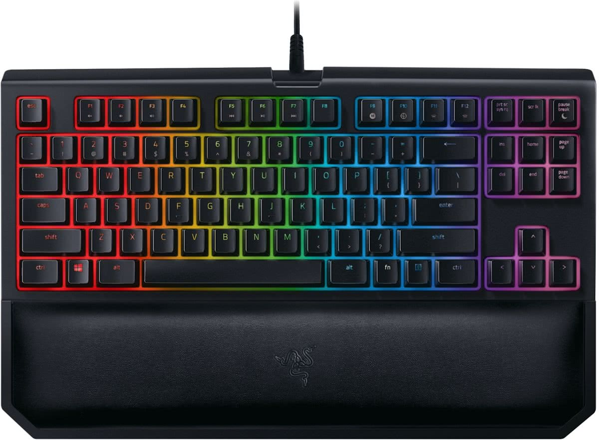 Razer BlackWidow Tournament Edition Chroma V2 - Qwerty - Green Switch - Mechanisch Gaming Toetsenbord