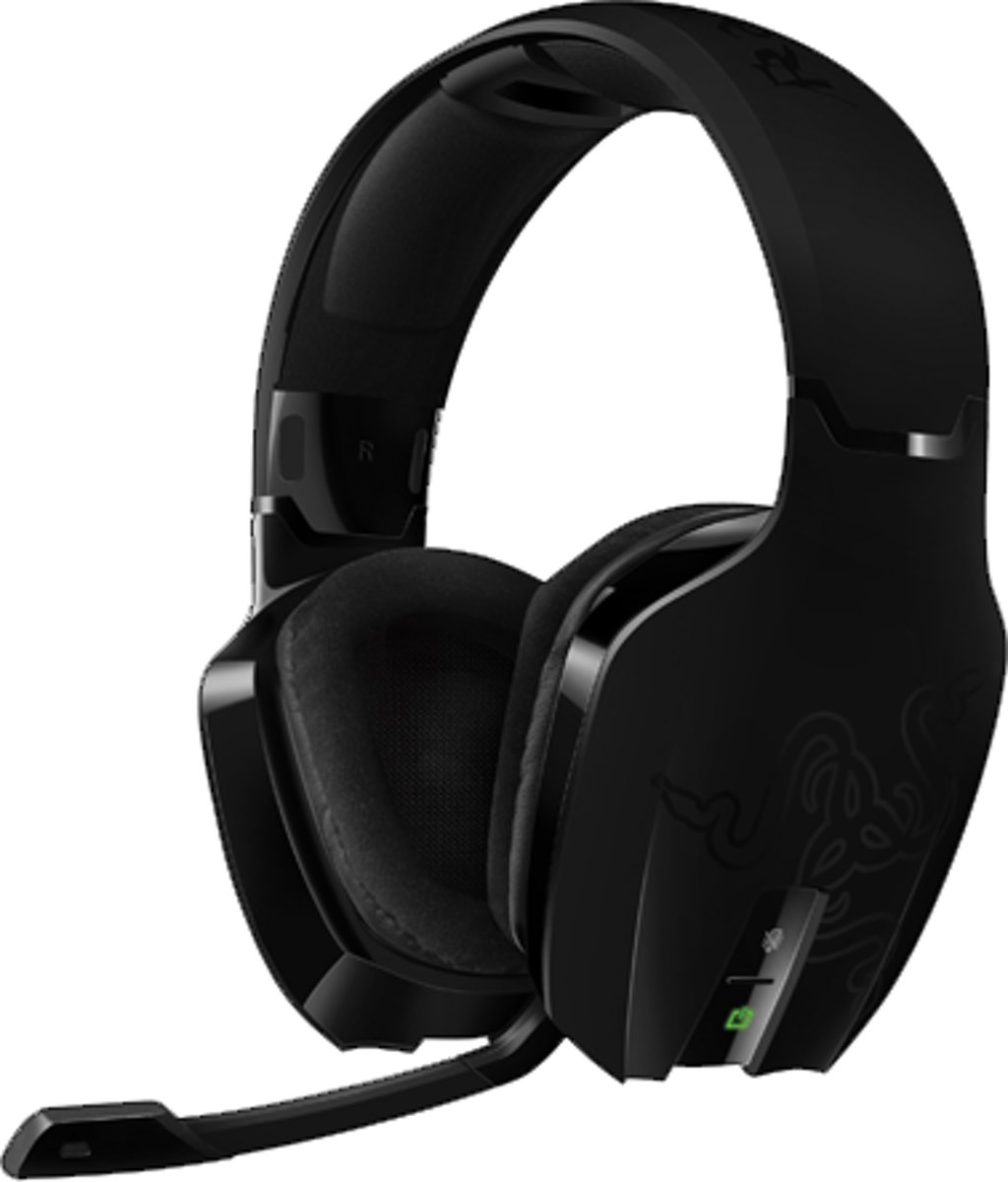 Chimaera Wireless 5.1 Virtueel Surround Gaming Headset - Zwart (PC + Xbox 360)