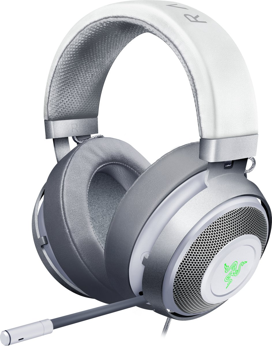 Razer Kraken 7.1 Chroma V2 - Over Ear Gaming Headset - Mercury Edition - PS4 + PC + MAC