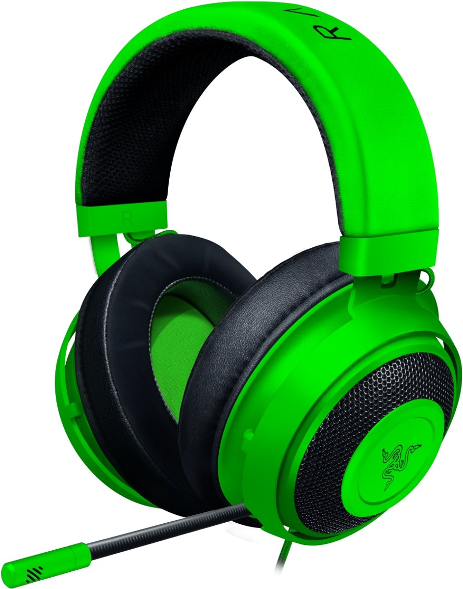 Razer Kraken Gaming Headset PS4 / PC / MAC / Xbox One / Switch / Mobile - Groen