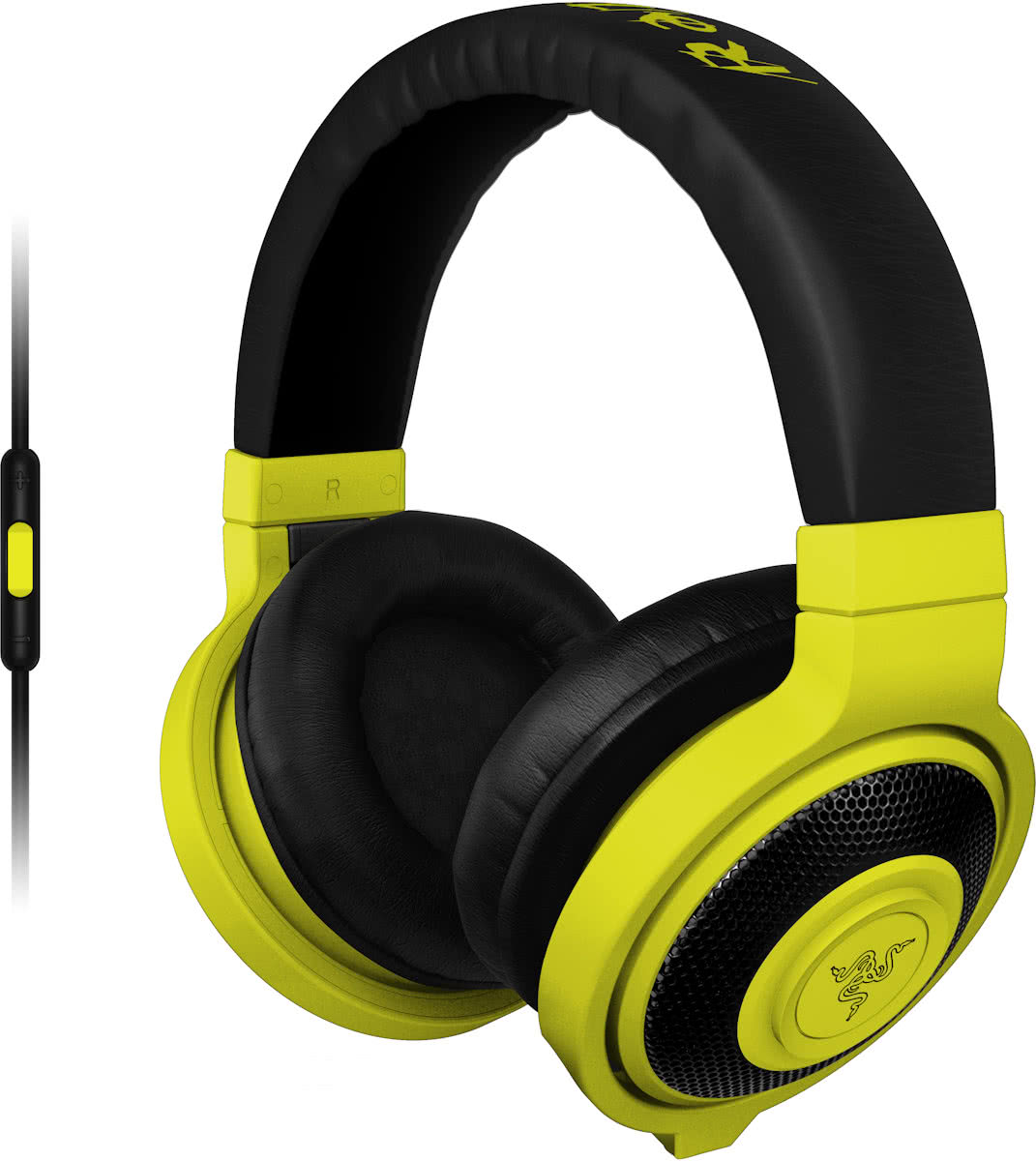 Razer Kraken Mobile Neon - Gaming Headset - Windows + MAC + Mobile - Geel