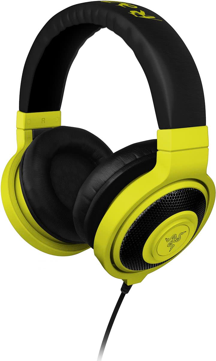 Razer Kraken Neon Analog Wired Stereo Gaming Hoofdtelefoon - Geel (PC)