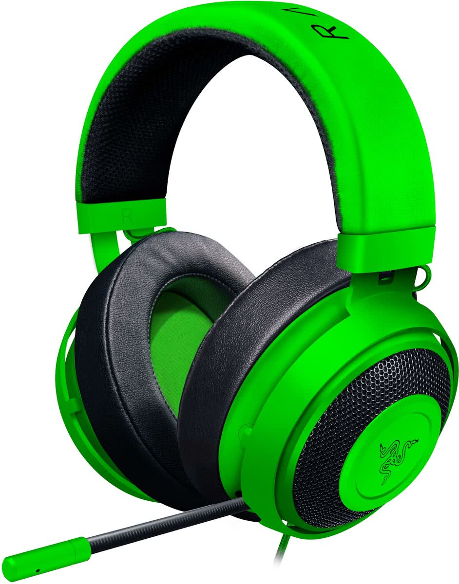 Kraken Pro V2 Oval - Over Ear - Gaming Headset - PS4 + Xbox One + PC + MAC - Groen