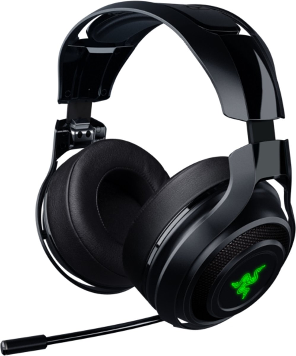 ManOwar - Draadloze Gaming Headset - Windows + PS4 + MAC