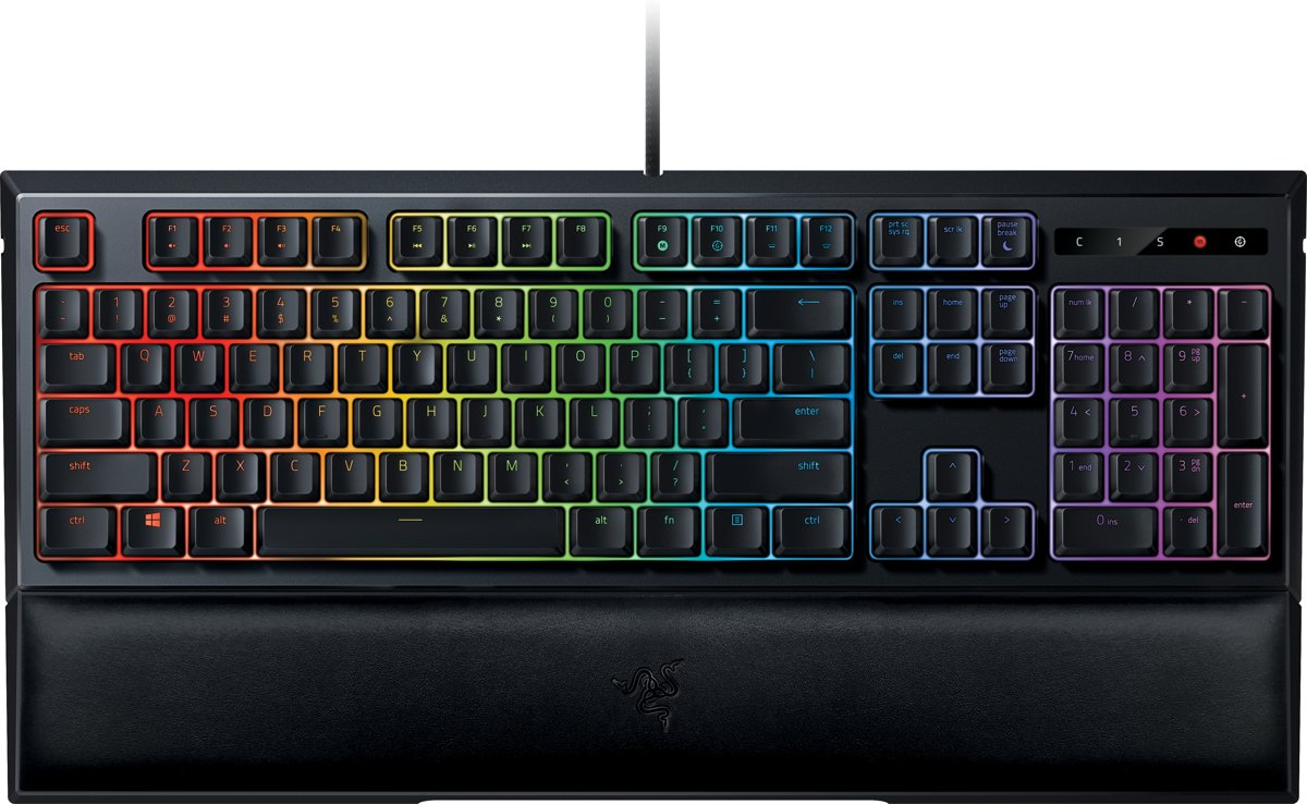 Razer Ornata Chroma - Qwerty -  Mecha-Membraan Gaming Toetsenbord