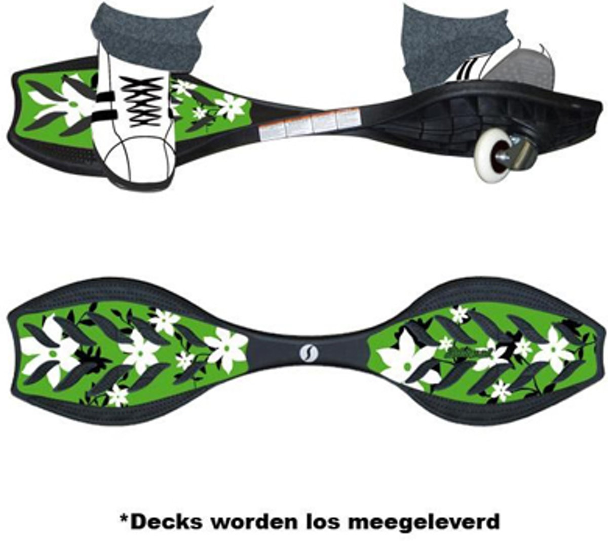 Ripstik Air Pro Green Flower - By