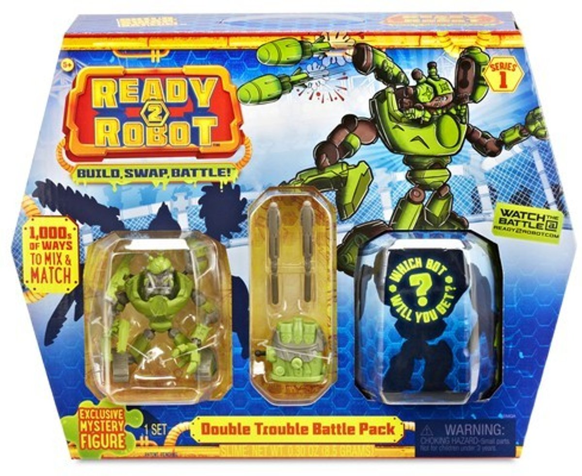 Ready2Robot Battle Pack- Double Trouble