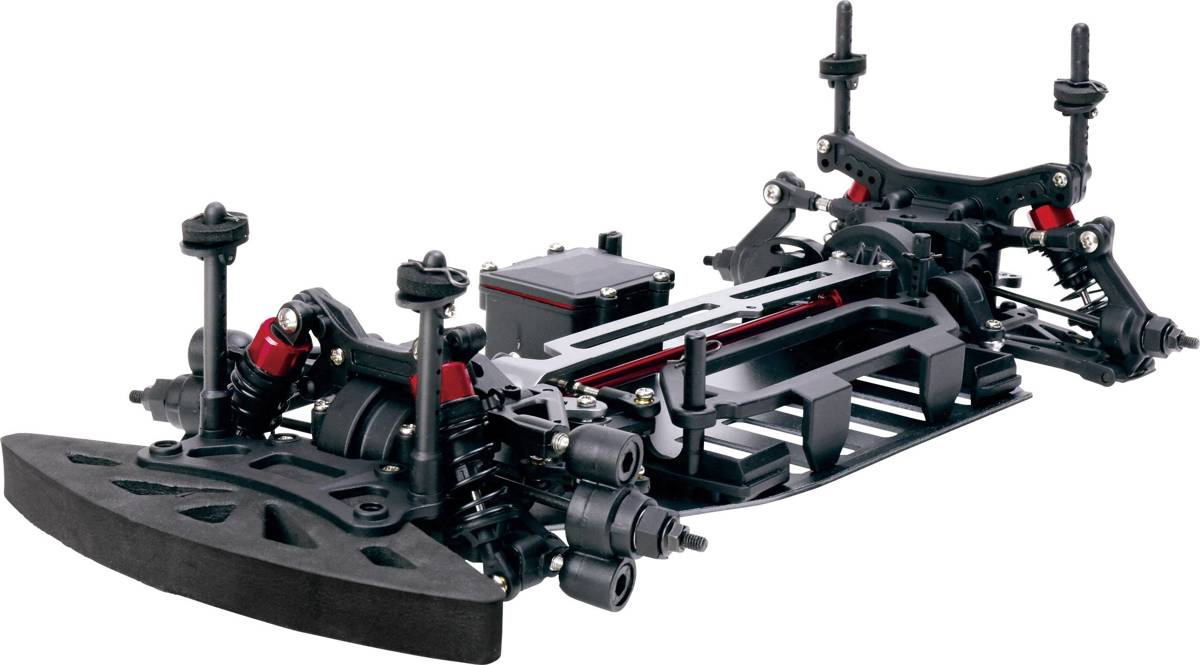 TC-04 Onroad-Chassis 1:10 RC auto Elektro Straatmodel 4WD ARR