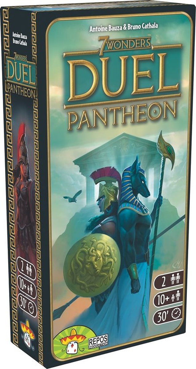 7 Wonders: Duel - Pantheon Expansion (Engelstalig)
