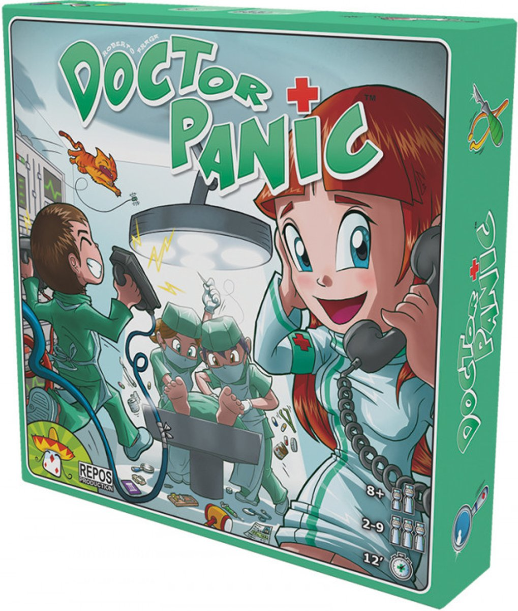 Doctor Panic Board Game