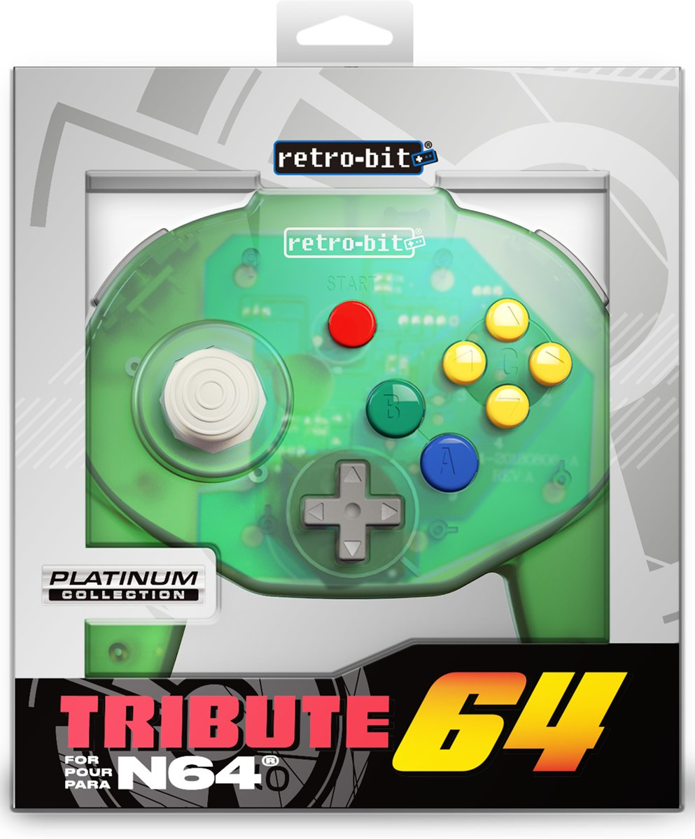 N64 Tribute   Forest Green