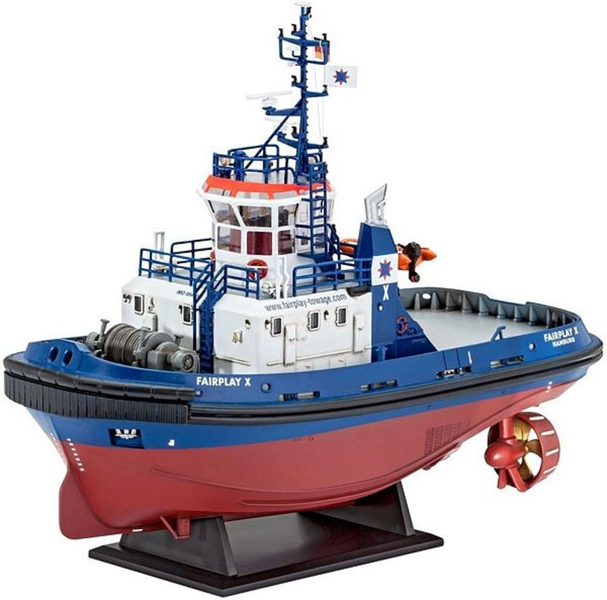Harbour Tug Boat Fairplay   schaal 1:144