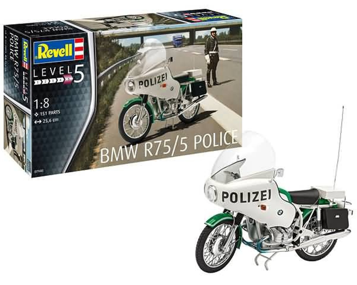 REVELL 1:8 BMW R75/5 Police