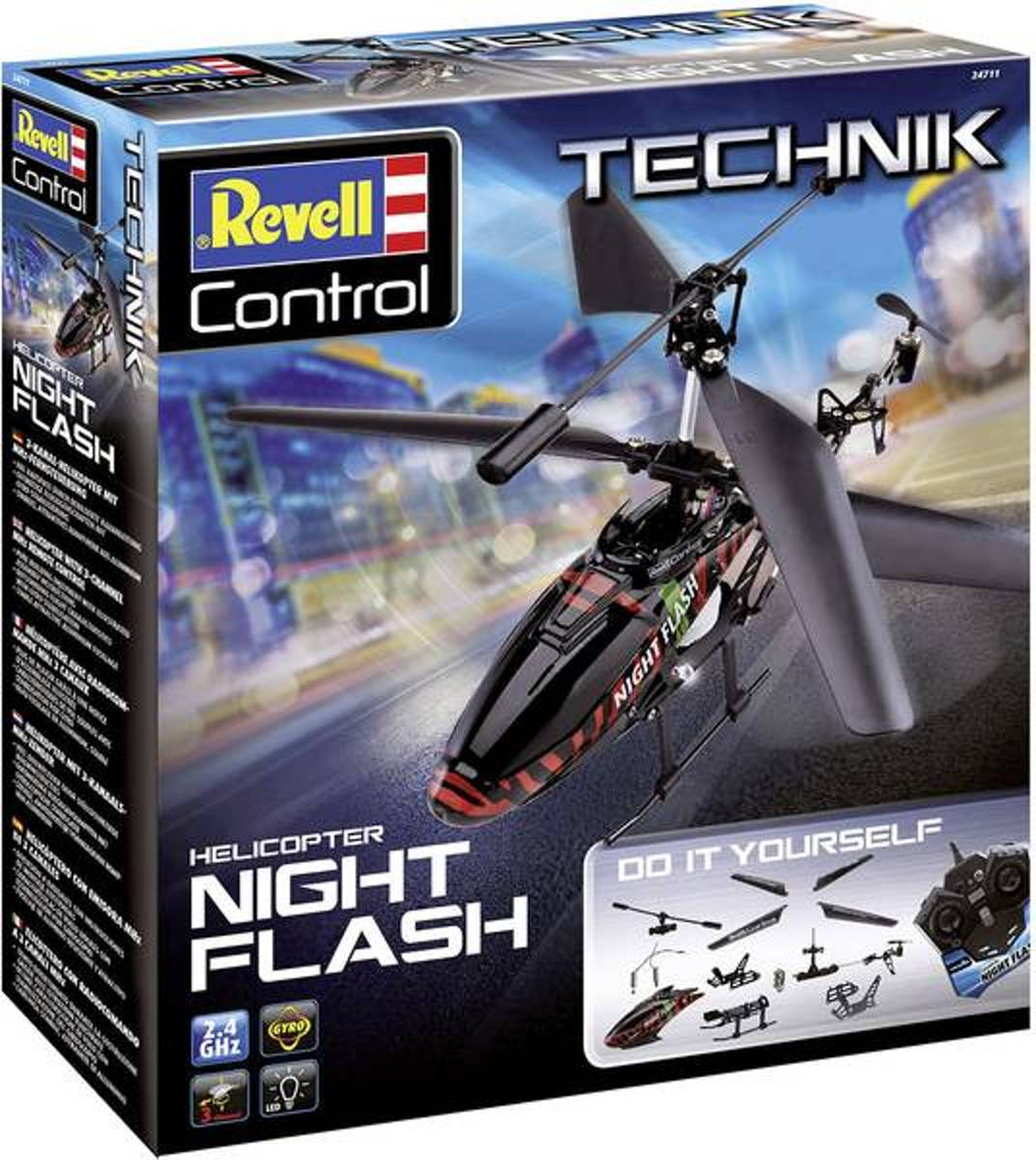 Night flash RC helikopter