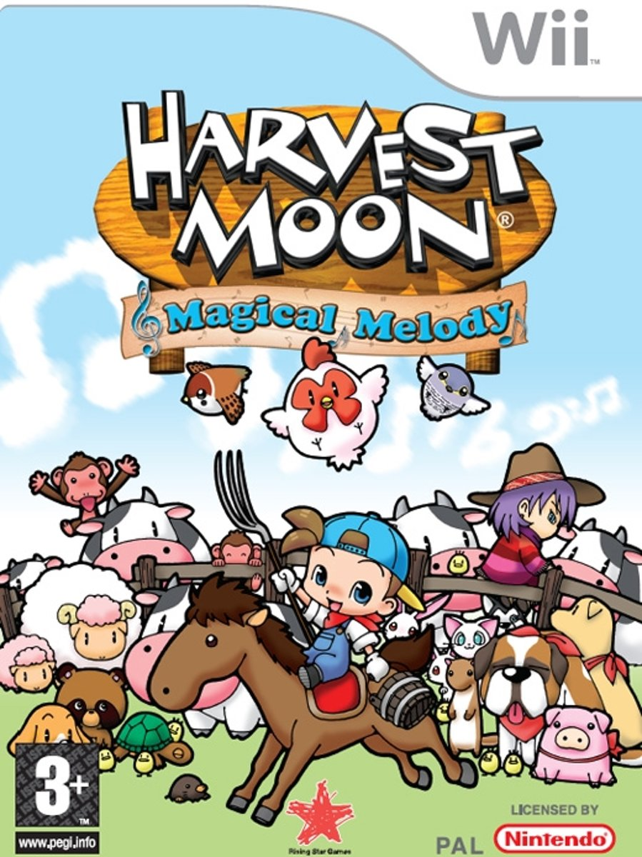 Harvest Moon Magical Melody /Wii