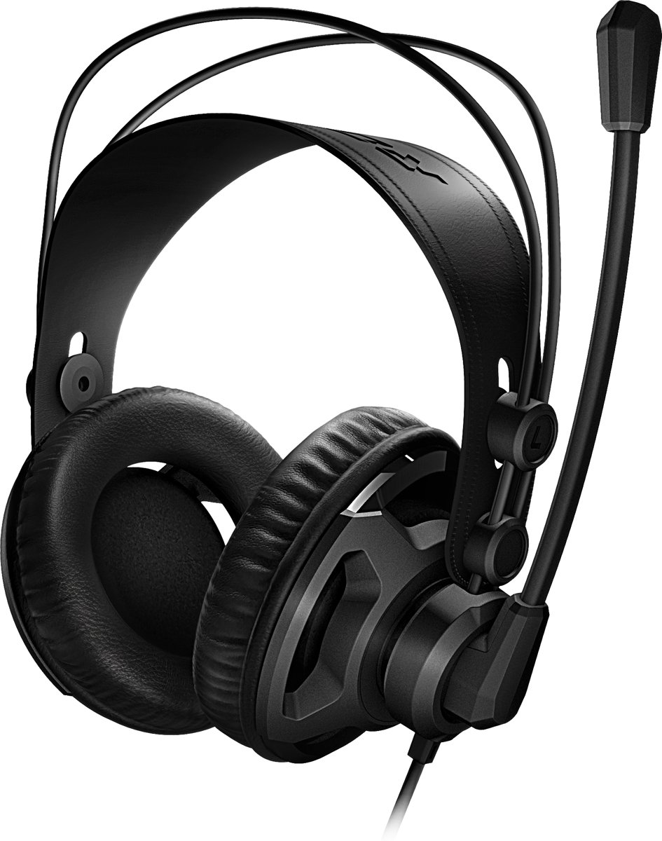 Roccat Renga Boost Stereo Gaming Headset - Over-Ear - Black - Windows / PS4 / Xbox One