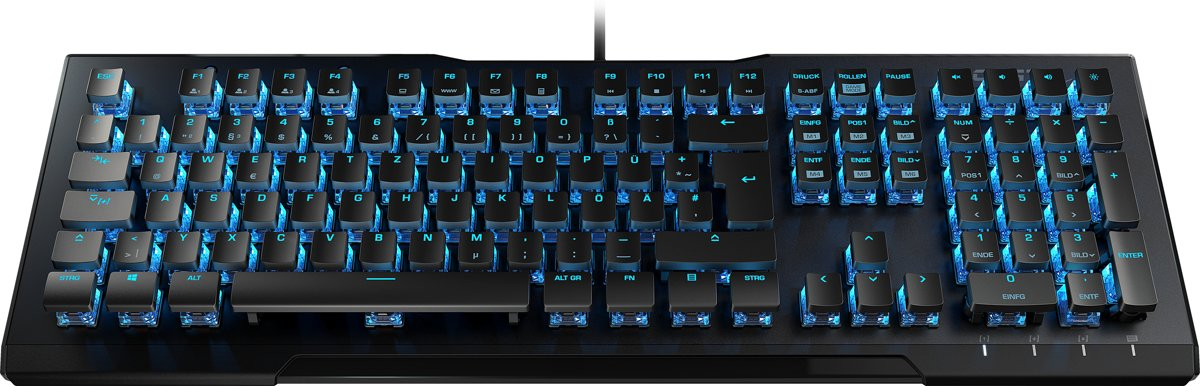 Roccat Vulcan 80 - Qwerty - Titan Brown Switches - Mechanisch Gaming Toetsenbord
