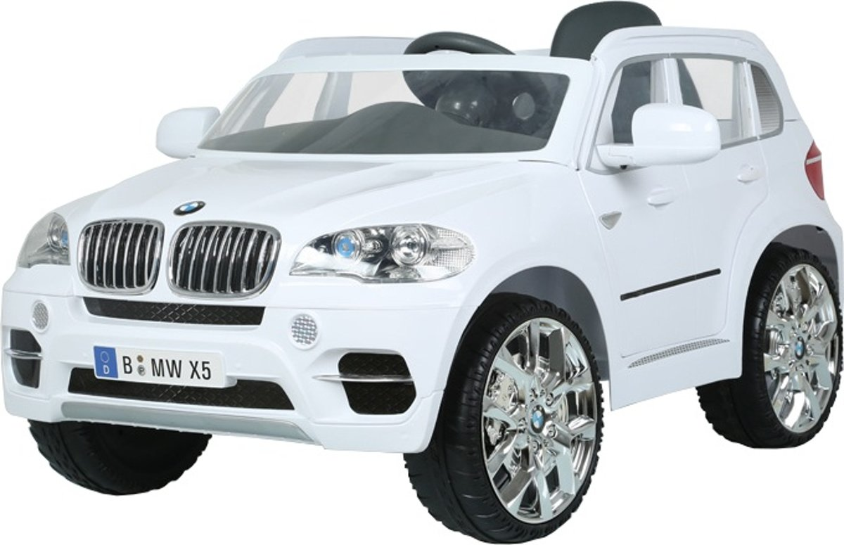 Bmw X5 Suv Rc Accuvoertuig 12 Volt Wit
