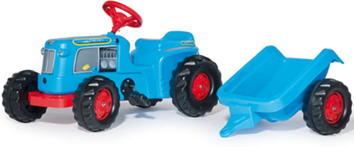 Kiddy Classic - Tractor - Blauw