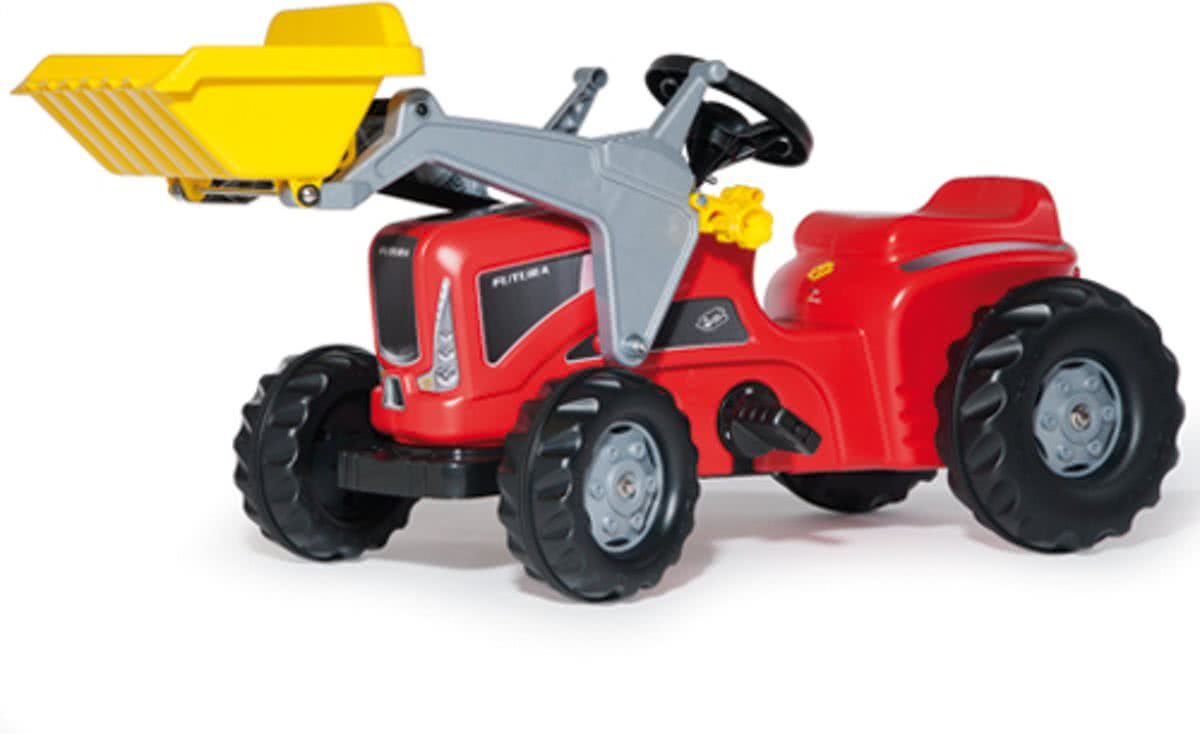 Kiddy Rolykid - Tractor - Rood