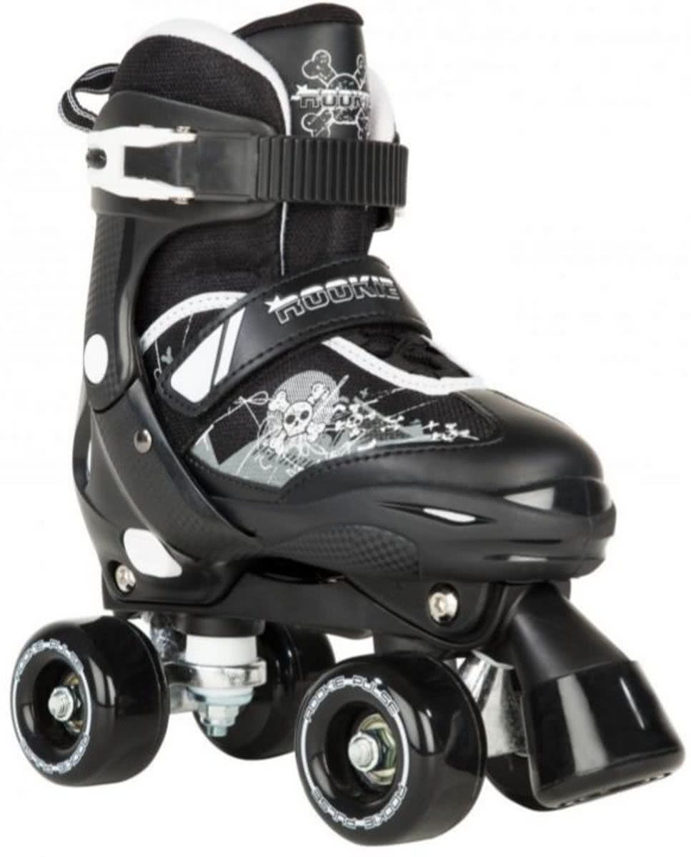 44fd54e3816 Rookie Adjustable Skate Pulse Junior zwart rolschaatsen kids ...