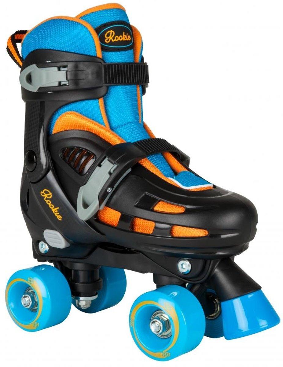 d9ecc910e74 Rookie Skates Duo Verstelbaar Blauw/zwart Maat 25.5-29